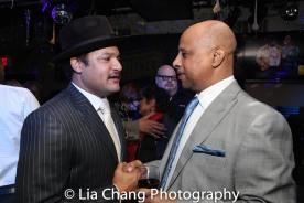 Brandon J. Dirden and Ruben Santiago-Hudson. Photo by Lia Chang