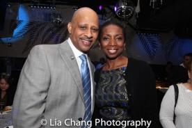Ruben Santiago-Hudson and Sharon Washington. Photo by Lia Chang