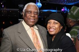 Woodie King Jr. and Elizabeth Van Dyke. Photo by Lia Chang