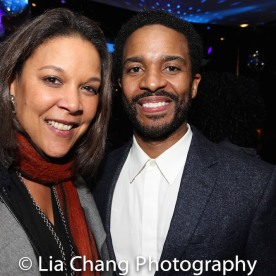 Linda Powell and André Holland. Photo by Lia Chang