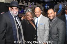 Bill Sims Jr., Ebony Jo-Ann, Ruben Santiago-Hudson and Jason Dirden. Photo by Lia Chang