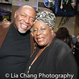 Chuck Cooper and Ebony Jo-Ann. Photo by Lia Chang