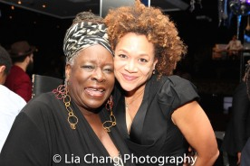 Ebony Jo-Ann and Michole Briana White. Photo by Lia Chang