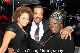 Michole Briana White, Russell Hornsby and Ebony Jo-Ann. Photo by Lia Chang