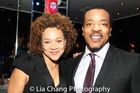 Michole Briana White and Russell Hornsby. Photo by Lia Chang