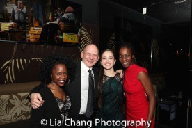 Ayisha Hunt, James Latus, Laura Wilson and Awoye Timpo. Photo by Lia Chang