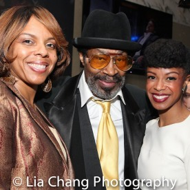Sakina Ansari Wilson, Anthony Chisholm and guest. Photo by Lia Chang
