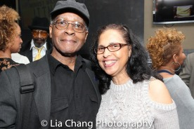 Allie Woods, Jr. and Deborah Dirden. Photo by Lia Chang