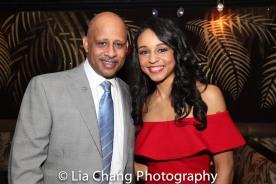 Ruben Santiago-Hudson and Carra Patterson. Photo by Lia Chang