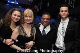 Lily Santiago-Hudson, Jeannie Brittan, Harvy Blanks and Trey Santiago-Hudson. Photo by Lia Chang