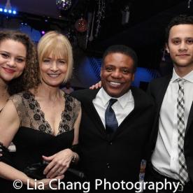 Lily Santiago-Hudson, Jeannie Brittan, Harvy Blanks and Trey Santiago-Hudson. Photo by Lia Chang