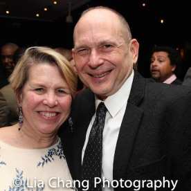 Mary Pat Klein and James Latus. Photo by Lia Chang