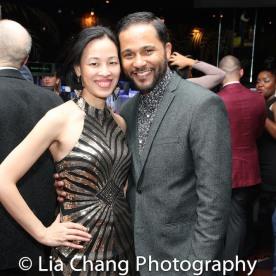 Lia Chang and Jason Dirden