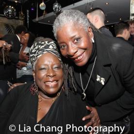 Ebony Jo-Ann and her sister Deborah Joseph. Photo by Lia Chang