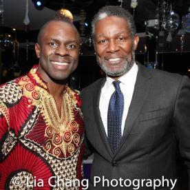 Gbenga Akinnagbe and John Douglas Thompson. Photo by Lia Chang