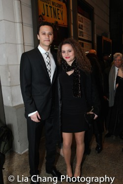 Trey Santiago-Hudson and Lily Santiago-Hudson. Photo by Lia Chang