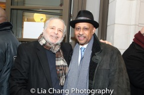 Alfred Uhry and Ruben Santiago-Hudson. Photo by Lia Chang