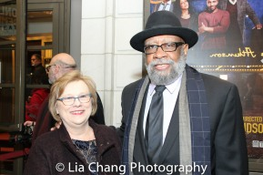 Karen Wilson and Bill Sims Jr. Photo by Lia Chang