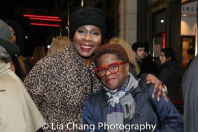 Marcia Pendleton and a guest. Photo by Lia Chang
