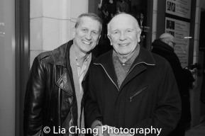 Broadway producer Thomas Kirdahy and his husband four-time Tony-winning playwright Terrence McNally. Photo by Lia Chang