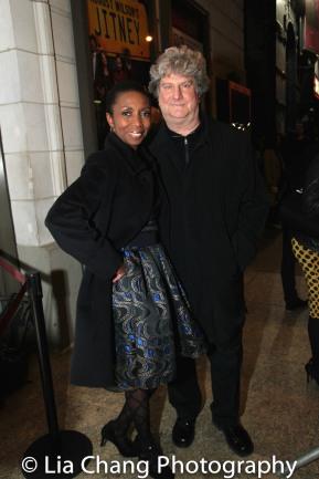 Sharon Washington and her husband Chuck Schultz. Photo by Lia Chang