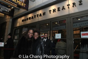 Kecia Lewis and La Chanze. Photo by Lia Chang