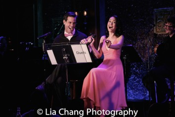 Jeremy Stolle, Ali Ewoldt. Photo by Lia Chang