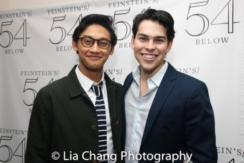Joshua Dela Cruz and Rodney Ingram. Photo by Lia Chang