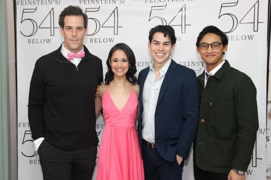 Jeremy Stolle, Ali Ewoldt, Rodney Ingram and Joshua Dela Cruz. Photo by Lia Chang