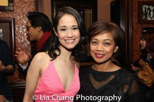 Ali Ewoldt and Monette Rivera. Photo by Lia Chang