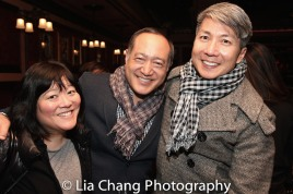 Ann Harada, Alan Muraoka and Jason Ma. Photo by Lia Chang
