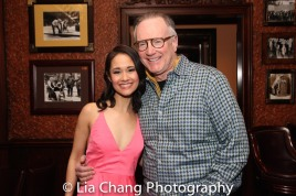 Ali Ewoldt and her manager Ted Schachter. Photo by Lia Chang