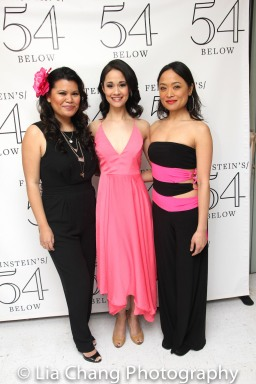 Liz Casasola, Ali Ewoldt and Rona Figueroa. Photo by Lia Chang