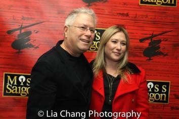 Alan Menken and Anna Menken. Photo by Lia Chang
