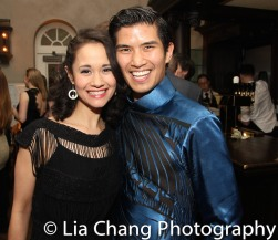 Ali Ewoldt and Christopher Vo. Photo by Lia Chang