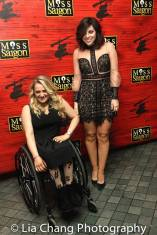 Ali Stroker and Krysta Rodriguez. Photo by Lia Chang