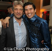 Alian Boubil and Christopher Vo. Photo by Lia Chang
