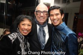 Baayork Lee, Bob Avian and Christopher Vo. Photo by Lia Chang