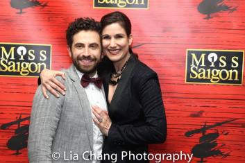 Brandon Uranowitz and Stephanie J. Block. Photo by Lia Chang