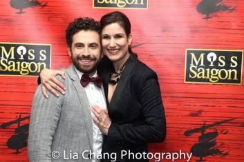 Brandon Uranowitz and Stephanie J. Block. Photo by Lia Chang