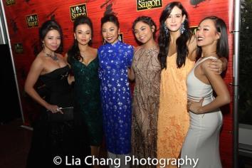 Catherine Ricafort, Minami Yasui, Kimberly Ahn Truong, Erika Hunter and Lina Lee. Photo by Lia Chang