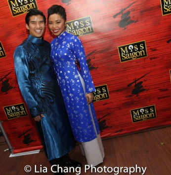 Christopher Vo and Kimberly Anh Truong. Photo by Lia Chang