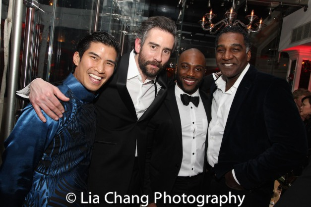 Christopher Vo and Norm Lewis. Photo by Lia Chang