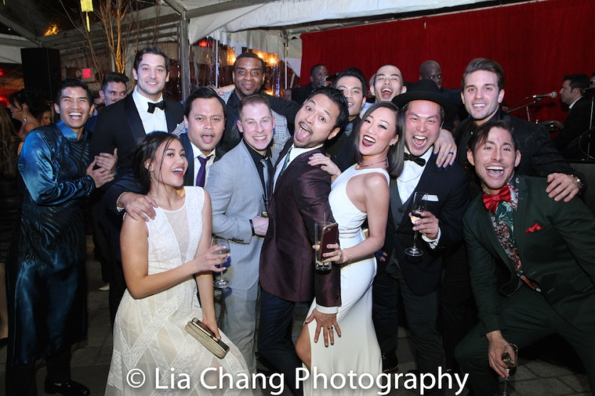 Christopher Vo, Casey Garvin, Emily Bautista, Julius Sermonia, Antoine L. Smith, Peyton Royal, Billy Bustamante, Jason Sermonia, Lina Lee, Kei Tsuruharatani, Paul HeeSang Miller, Dan Horn and Mike Baerga. Photo by lia Chang
