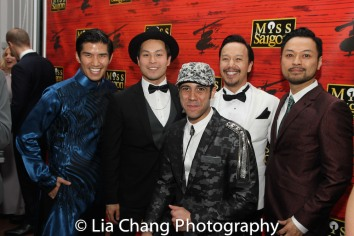 Christopher Vo, Paul HeeSang Miller, Travis Ward-Osborne, Adam Kaokept and Billy Bustamante. Photo by Lia Chang