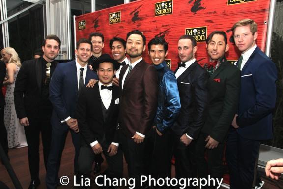 Dan Horn, Paul HeeSang Miller, Jason Sermonia, Billy Bustamante, Christopher Vo, Mike Baerga. Photo by Lia Chang
