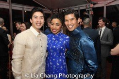Devin Ilaw, Kimberly Anh Truong and Christopher Vo. Photo by Lia Chang