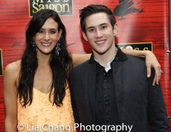 Erika Hunter and Warren Yang. Photo by Lia Chang