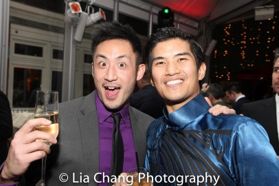 Hansel Tan and Christopher Vo. Photo by Lia Chang