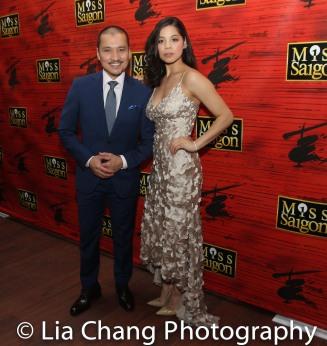 Jon Jon Briones and Eva Noblezada. Photo by Lia Chang